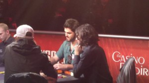 Danny playing poker in 2010